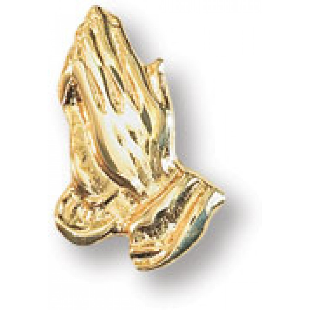 14k Gold Plated Praying Hands