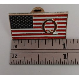 The 'Official' Q Flag Pin ★ Made in the USA