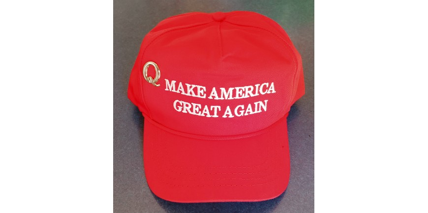 The Q Pin for your MAGA hat - BUY YOURS TODAY!