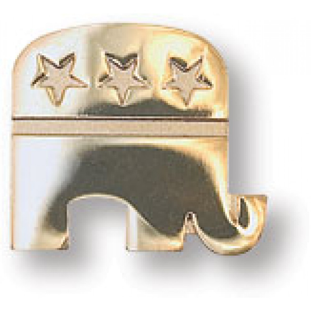 14k Gold Plated GOP Elephant