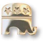 14k Gold Plated GOP Elephant