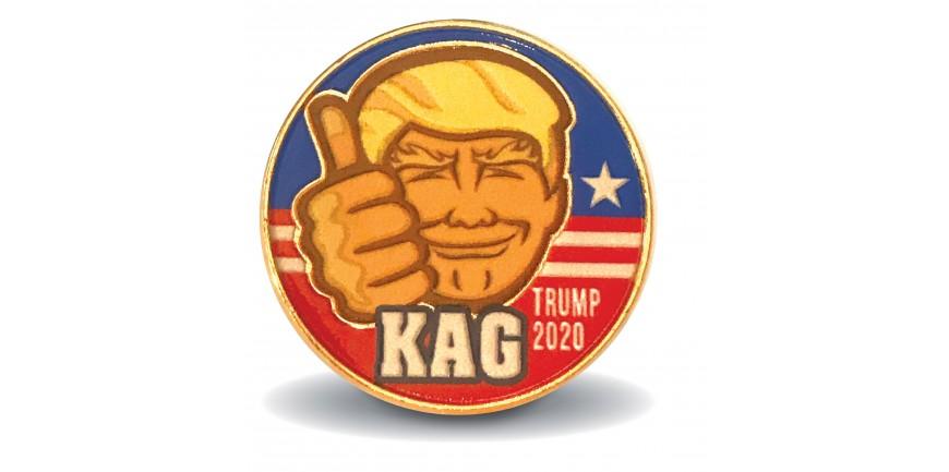 Trump 2020 KAG Pin