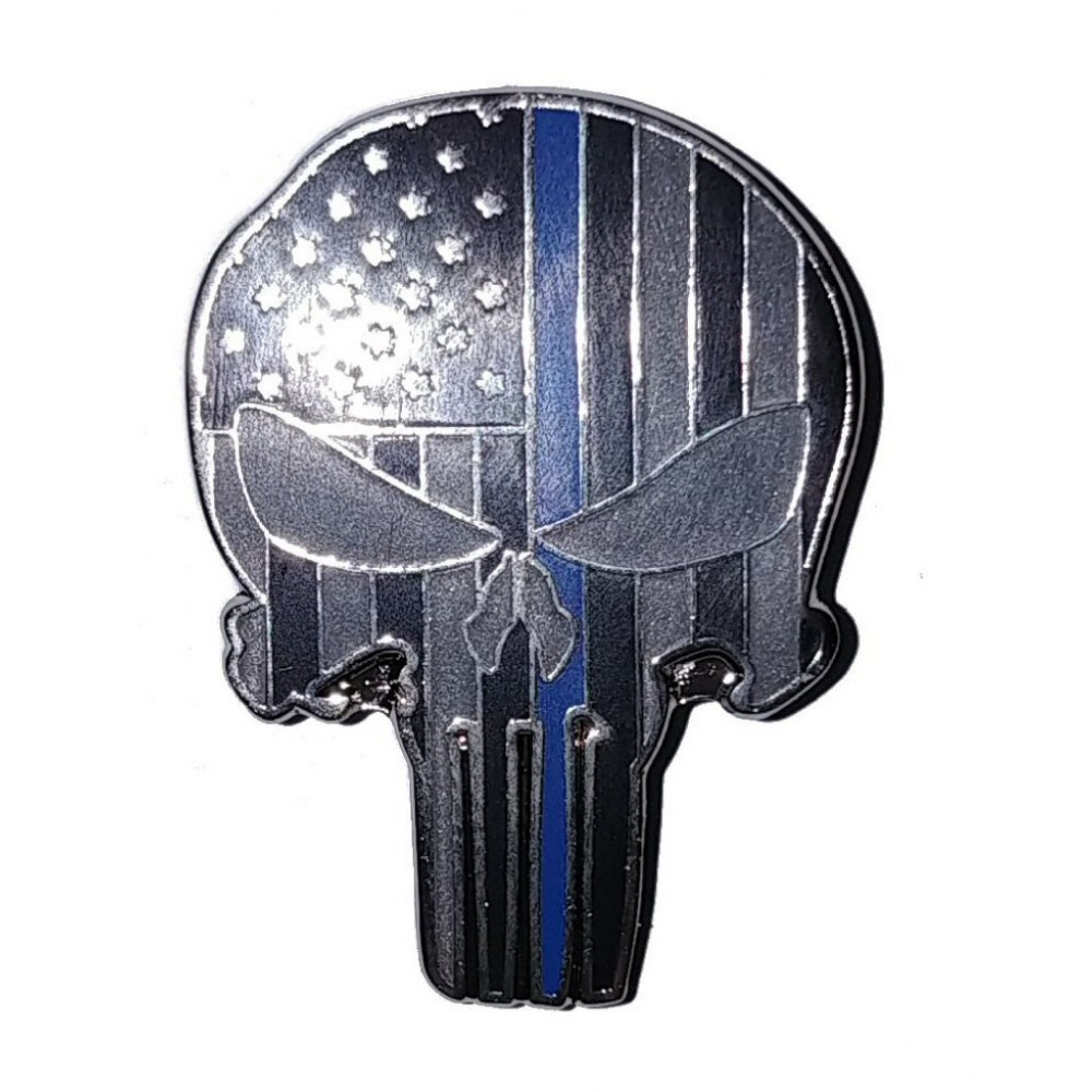 Thin Blue Line ★ Bring The Pain Pin ★ Made in the USA
