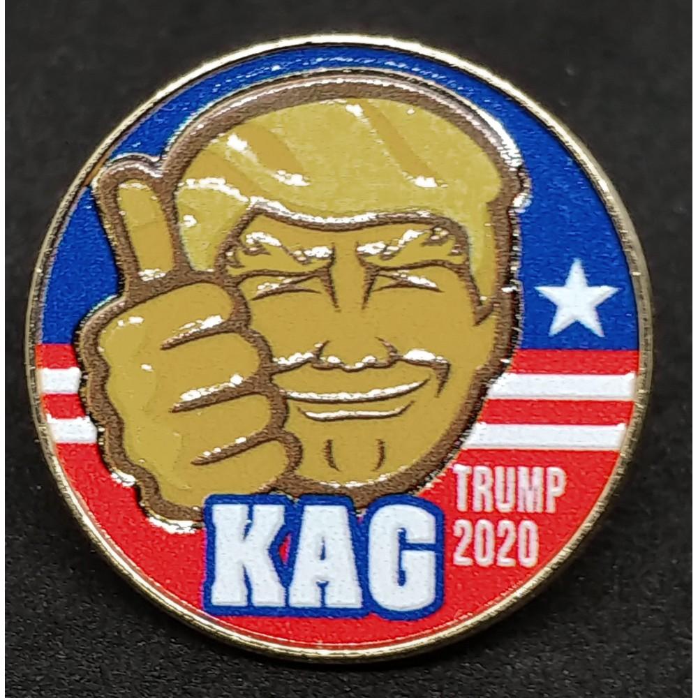 The Trump 2020 KAG Pin