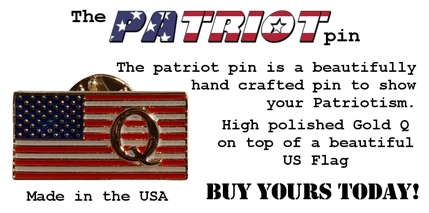 The Patriot Pin - BUY YOURS TODAY!