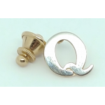 "The ""Q"" Collar Tie Tack Pin"