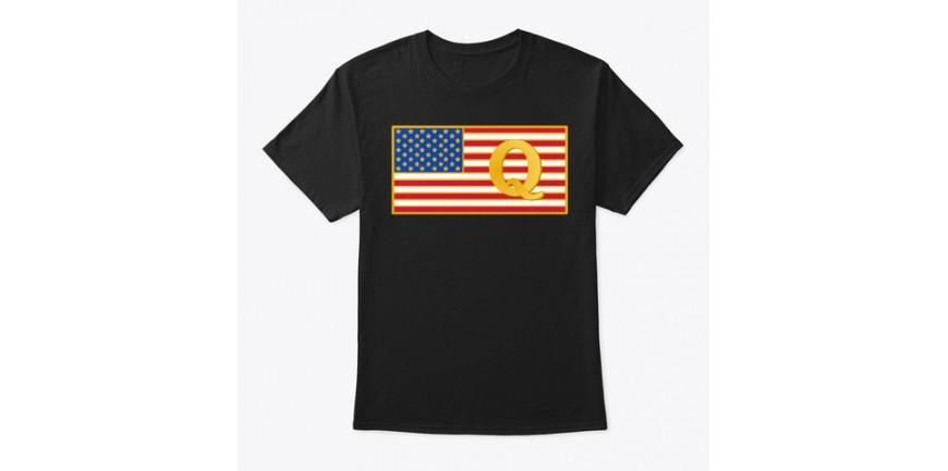 Q Flag T-Shirts