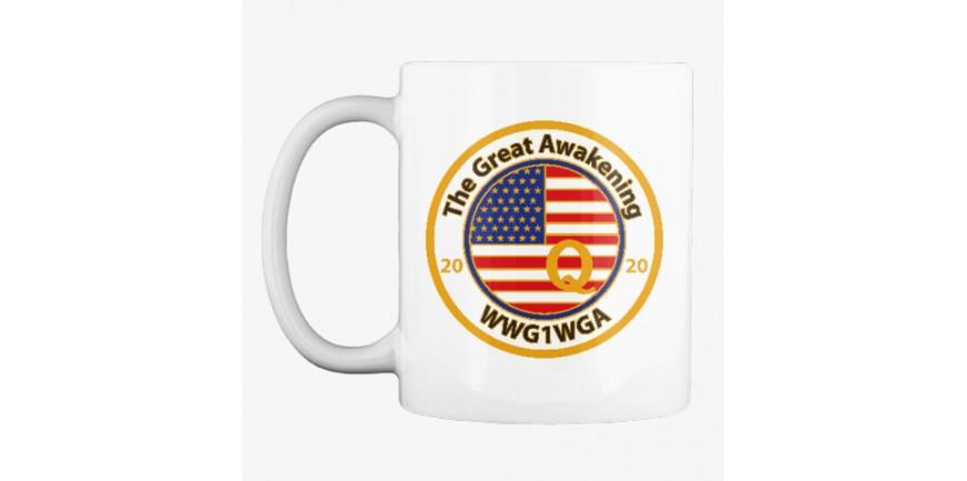 The Great Awakening Q 2020 Covfefe Mug